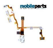 Аудио шлейф (audio flex cable) для Apple iPhone 3G,3GS (High Copy) (Черный)