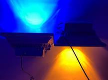 Светодиодный линзованый прожектор SL-50Lens 50W синий IP65 Код.59053, фото 3