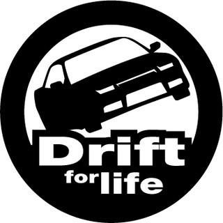 Вінілова наклейка на авто (Drift) (від 15х15 см)