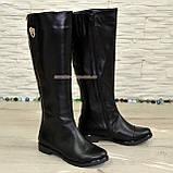 Стильные сапоги кожаные демисезонные. Хит продаж!, фото 5