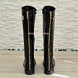 Стильные сапоги кожаные демисезонные. Хит продаж!, фото 7