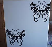 Виниловая наклейка на холодильник (Бабочка) 1 шт от 15х15 см