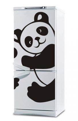 Вінілова наклейка на холодильник ( Панда) від 30х20 см