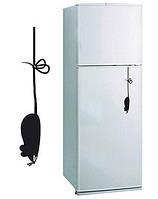 Виниловая наклейка на холодильник -мышь на шнурке
