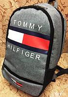 Городской рюкзак TOMMY HILFIGER светло-серый