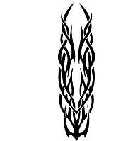 Виниловая наклейка - Узор 34