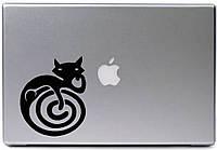 Виниловая наклейка - кот