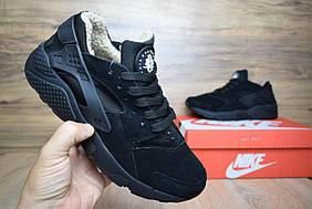 Зимние женские кроссовки Nike Huarache, Копия