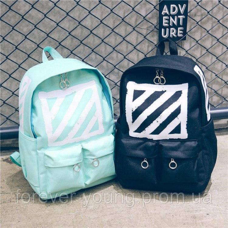 e896d1edecfb Рюкзаки с квадратом черный и мятный - Интернет-магазин