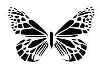 Виниловая наклейка- Бабочка 33