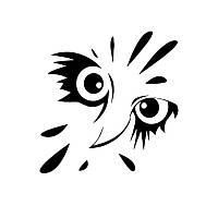 Виниловая наклейка- Сова (15)