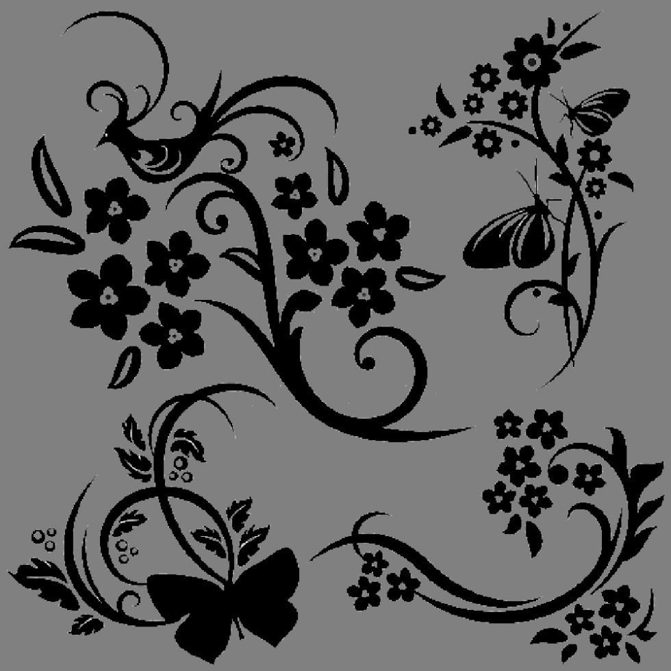 Виниловая наклейка - Узор 1  (от 50х50 см)