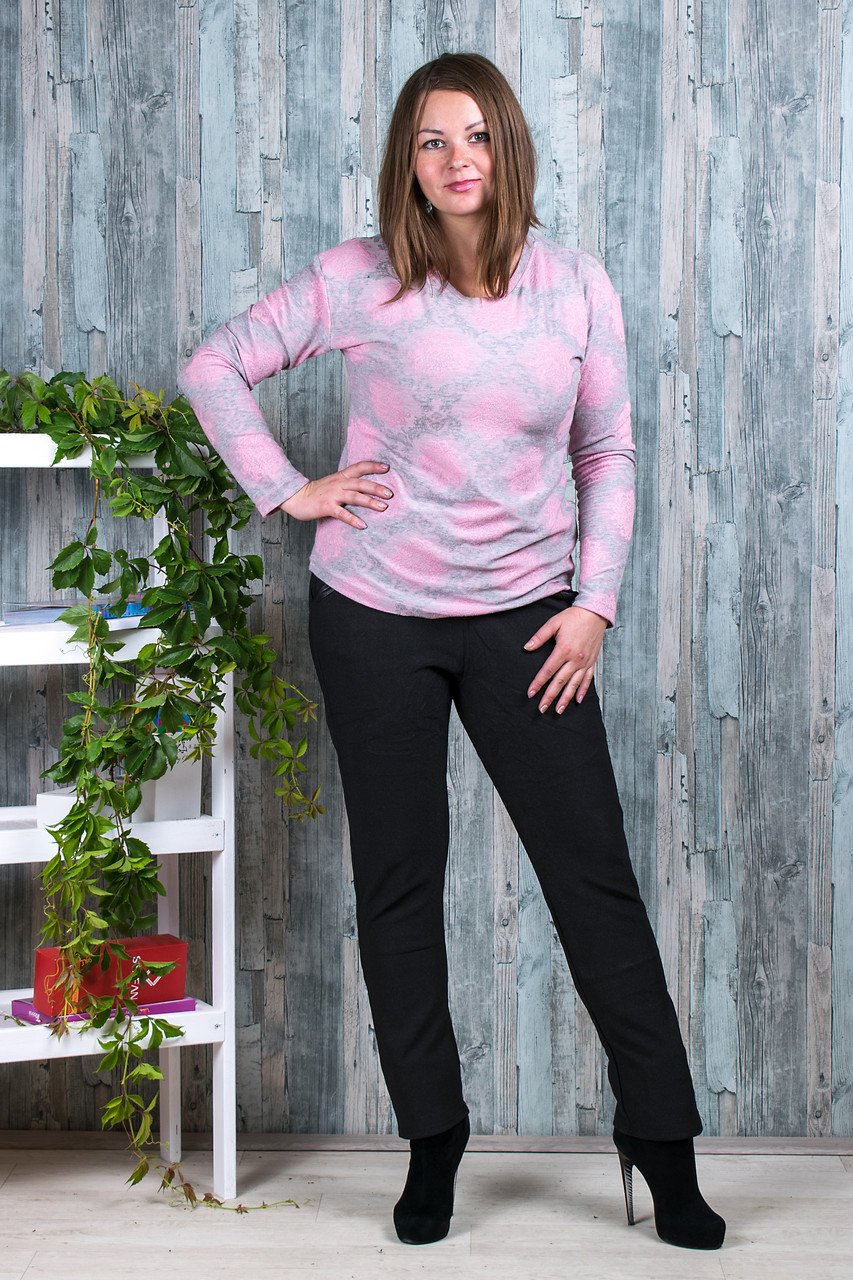 Женские штаны на флисе Ласточка А526-101 5XL. Размер 52-56.