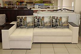 Угловой диван с большим спальным местом