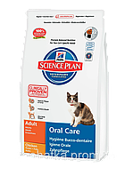 Hills (Хилс) Science Plan Feline Oral Care Adult (5 кг) корм для кошек уход за полостью рта