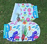 Нескользящий коврик для купания малыша Lindo