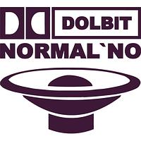 Наклейка на авто-Dolbit Normalno с динамиком (разные цвета) (от 12х15 см)