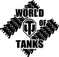 Виниловая наклейка-World of tanks