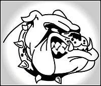 Виниловая наклейка -Собака (от 20х20 см)