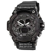Электронные часы Casio G-Shock GWA-1045 All Black, спортивные часы Джи Шок черный