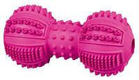 TRIXIE (Трикси) Denta Fun Гантель каучуковая 9см - игрушка для собак