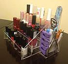 Подставка для лаков с контейнером для маникюрных инструментов, фото 4