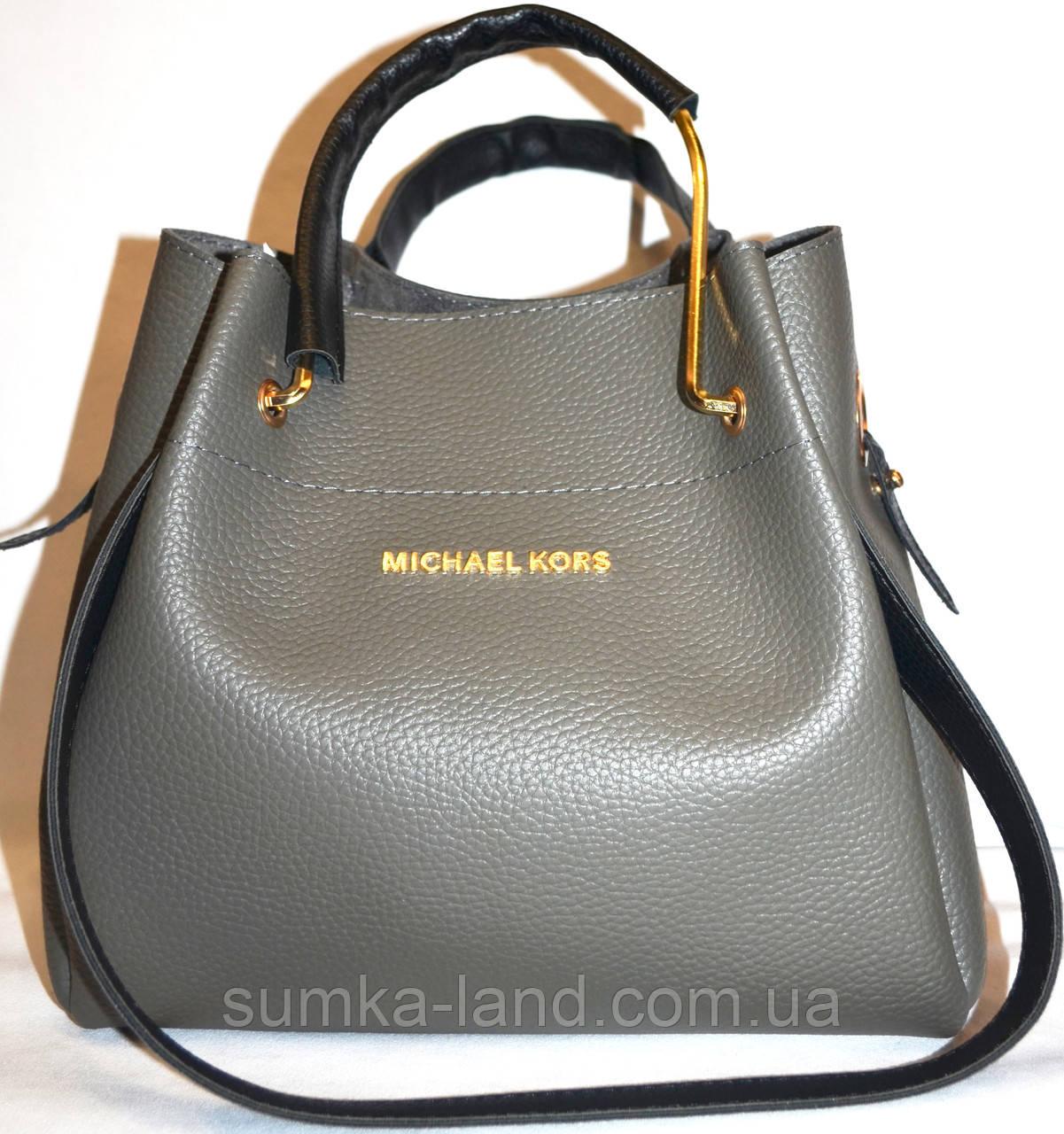 725eb26380c8 Женская элитная сумка Michael Kors 28*26 (серый), цена 427 грн ...