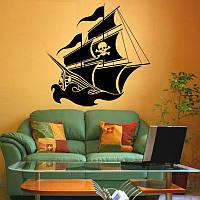 Виниловая наклейка-Корабль