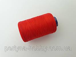 Нитки шовкові ( віскоза ) для вишивання, для  ручної роботи, 23 грам. Індія. Червоні яскраві.7N