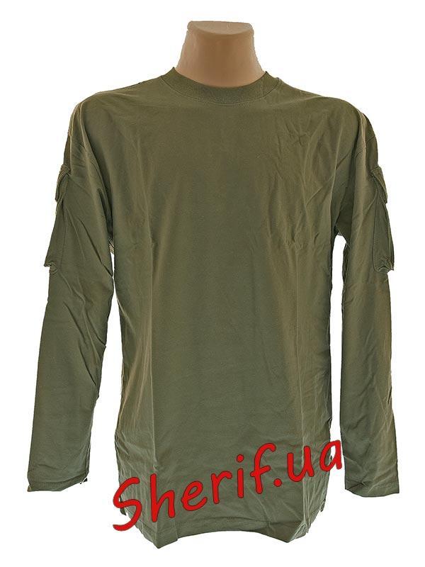 Футболка армейская с длинным рукавом  Max Fuchs Olive 00123B