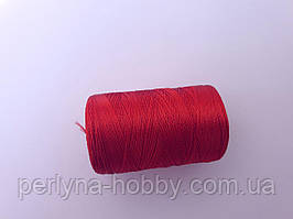 Нитки шовкові ( віскоза ) для вишивання, для  ручної роботи, 23 грам. Індія. Червоні №7