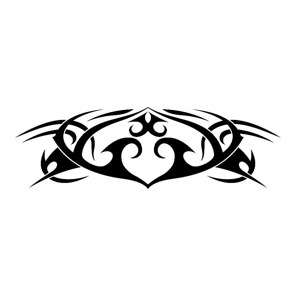 Виниловая наклейка - Узор 25