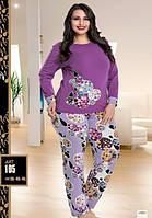 Пижама женская больших размеров LADY LINGERIE 105