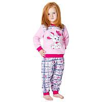 """Пижама на девочку байка Габбі 10931 р.104 """"ЗАЙКИ"""""""