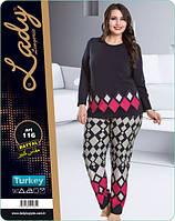 Пижама женская больших размеров LADY LINGERIE 116