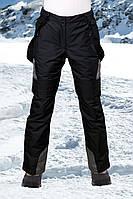 Брюки лыжные женские пепельные, фото 1