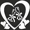 Виниловая наклейка- Бокалы (сердце)
