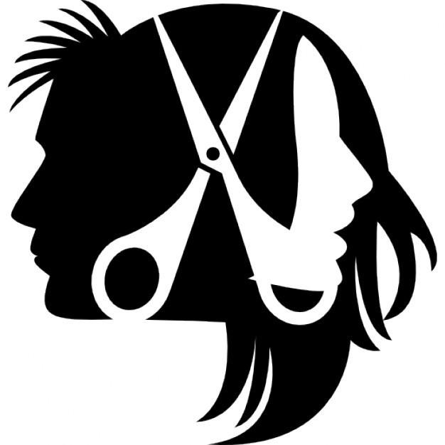 Вінілова наклейка - ножиці (від 10х10 см)