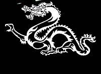 Виниловая наклейка - Дракон(14) (от 15х25 см)
