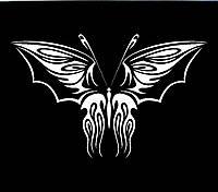 Виниловая наклейка- Бабочка 24 (от 10х10 см)