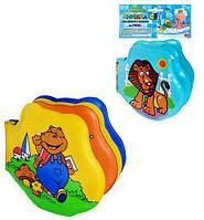 Детская игрушка Книжка-пищалка для ванной 2 вида (M 0258 U/R)
