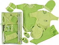 Детская одежда оптом. Набор подарочный для новорожденных 7 предметов.