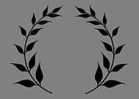 Виниловая интерьерная наклейка - Узор 3 (от 10х10 см)