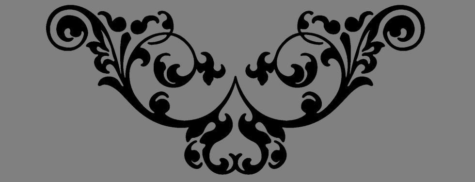 Вінілова інтер'єрна наклейка - Візерунок 4 (від 5х15 см)