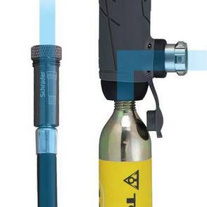 Ручной комбинированный мининасос Topeak Hybrid Rocket HP, фото 2