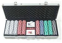 Настольная игра Johnshen Sports Покерный набор 500 фишек по 11,5 г (59210)