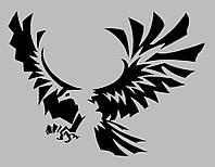 Виниловая наклейка на телефон -Орёл