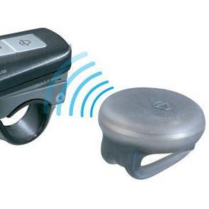 Фара передняя Topeak SoundLite USB с сигналом, чёрная, фото 2
