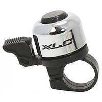 Звонок велосипедный XLC DD-M01, серебристый