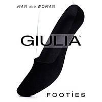 Натуральные хлопковые короткие носочки-подследники GIULIA FOOTIES KLG-499